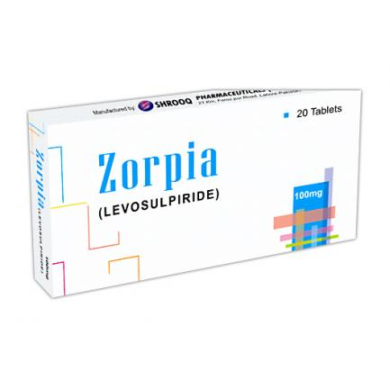 Zorpia tablet 100 mg 2x10's