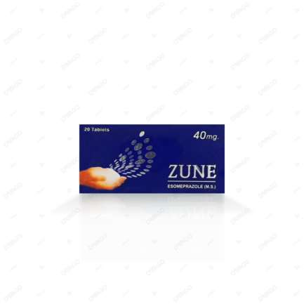 Zune tablet 40 mg 2x10's