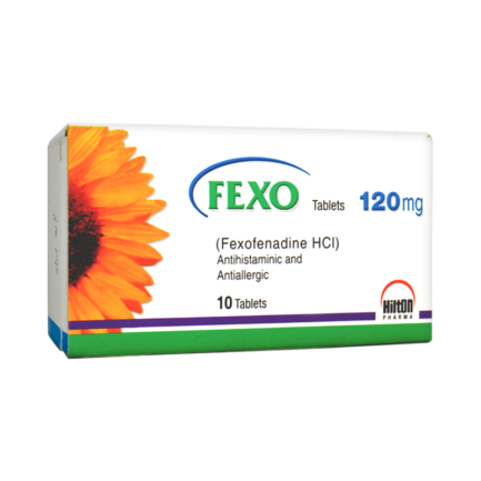 Fexo tablet 120 mg 10's
