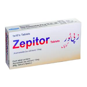 Zepitor tablet 10 mg 10's