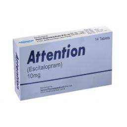 Attention tablet 10 mg 14's