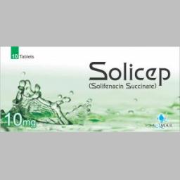 Solicep tablet 10 mg 10's
