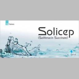 Solicep tablet 5 mg 10's