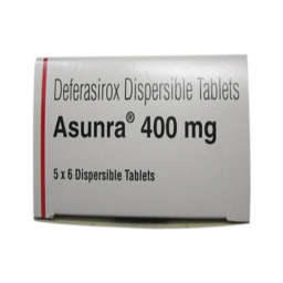 Asunra tablet Dispersible 400 mg 30's