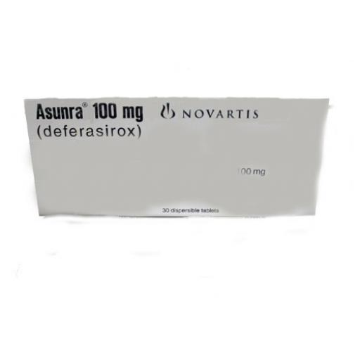 Asunra tablet Dispersible 100 mg 30's