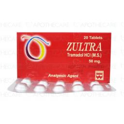 ZULTRA 50mg Tablet 2x10s