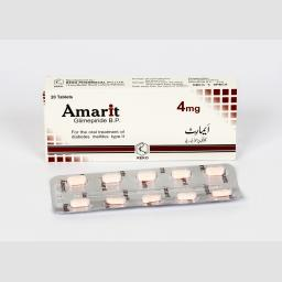Amarit tablet 4 mg 2x10's