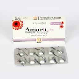 Amarit Plus tablet 2/500 mg 30's