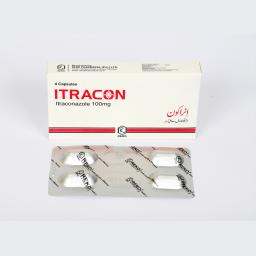 ITRACON 100mg Capsule 4s