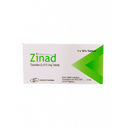 Zinad tablet 2 mg 10's