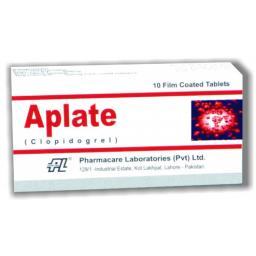 Aplate tablet 75 mg 10's