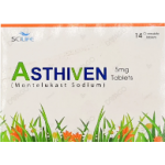 Asthiven tablet 5 mg 14's
