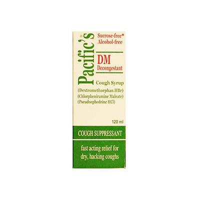 PACIFICS-DM DECONGESTANT 12.5mg|5ml Syrup 120ml
