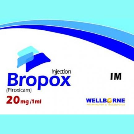Bropox Injection 20 mg 5 Ampx1 mL