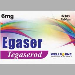 Egaser tablet 6 mg 3x10's
