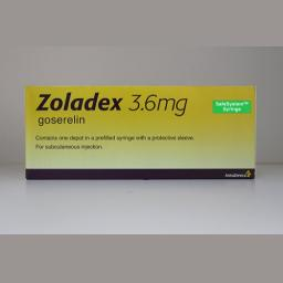 Zoladex Depot Injection 3.6 mg 1's
