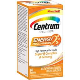 centrum specialist energy multivitamins